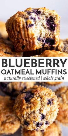 Healthy Blueberry Oatmeal Muffins Blueberry Oatmeal Muffins are an easy breakfast or snack to stash in the freezer. They are made with whole grains and sweetened with honey – a quick, easy and nutritious recipe that's perfect for meal prep! Breakfast Appetizers, Breakfast Dessert, Best Breakfast, Breakfast Ideas, Quick Easy Breakfast, Healthy Breakfast Meal Prep, Appetizer Dessert, Breakfast Sandwiches, Oatmeal Blueberry Muffins Healthy
