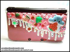 Decoden+Hamuberry+3DS+XL+Case+by+GrandmaThunderpants.deviantart.com+on+@deviantART