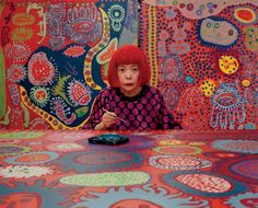 Yayoi Kusama Returns to New York with a New Show at David Zwirner : Architectural Digest Yayoi Kusama, Art Pop, Artist Art, Artist At Work, Kunst Der Aborigines, Art Brut, Aboriginal Art, Aboriginal Patterns, Japanese Artists