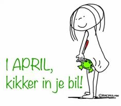1 april, kikker in je bil! - Jabbertje