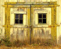 yellow barn!