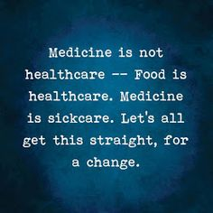 Prioritizing nourishing eating, rather than numbing with side-effecting medication, appearing to more deeply support wellness than not, eh?