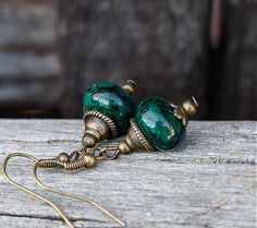 gabi111 / Smaragdové chryzokoly Handmade, Hand Made, Handarbeit