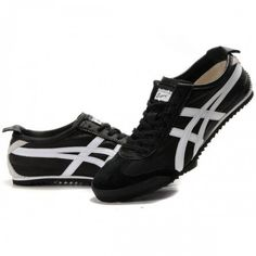2012 Asics Onitsuka Tiger NIPPON MADE Lambskin Mens Shoes Black White
