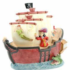 Disney Cookie Jar Gallery: Captain Hook/Peter Pan