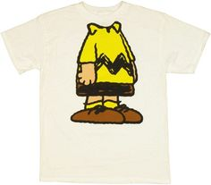 Peanuts - Charlie Brown Body T-Shirt Small White Charlie Brown Costume, Peanuts T Shirts, Charlie Brown Peanuts, Peanuts Gang, Brown Bodies, T Shirt Costumes, Graphic Tee Shirts, Vintage Children, Passion For Fashion