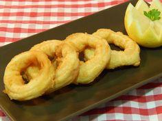 Cómo hacer calamares a la romana esponjosos / receta fácil y rápida