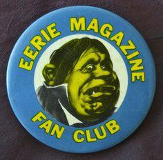Japanese Monster Movies, Charles Addams, Horror Comics, Monster Mash, Badges, Magazines, Creepy, Sci Fi, Comic Books