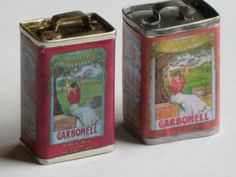 a guide to making miniature tin cans.