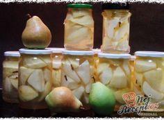 Recepty na domácí ovocný kompot | NejRecept.cz Root Cellar, Honeydew, Garlic, Dairy, Cheese, Traditional, Fruit, Vegetables, Cooking
