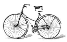Free Vector Downloads - Vintage Bicycle printable