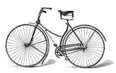 Free Vector Downloads - Vintage Bicycle printable