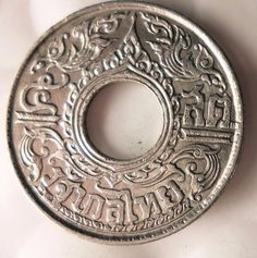 1941 THAILAND 5 SATANG - AU/UNC - High Grade Exotic Silver Coin - Lot #M14 | eBay Coin Design, Silver Coins, Exotic, Thailand, Personalized Items, Silver Quarters