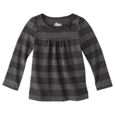 Circo® Infant Toddler Girls' Long-sleeve Lurex Tee