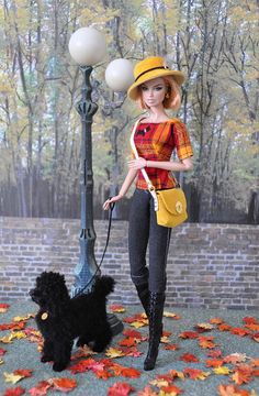99-3.  OOAK outfit 'Londoner' for Silkstone and FR dolls. by Natalia Sheppard, via Flickr