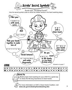 K 5 Hand Hygiene Lesson Plans And Worksheets 6 Page 1