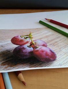 How to Color a Grape -
