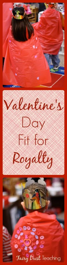 Have a Valentine's Day fit for royalty! Find out how at fairydustteaching.com!