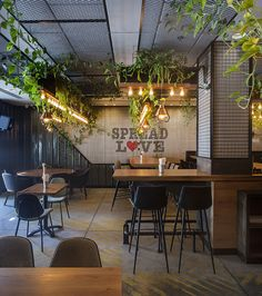 416 is a vegan chef's restaurant that carved its flag to feed people with a lot of love and in a healthy and educative way. Restaurant Layout, Restaurant Concept, Mini Cafe, Design Your Own Home, Café Bar, Outdoor Seating Areas, Hotel Decor, Vegan Restaurants, Restaurant Interior Design