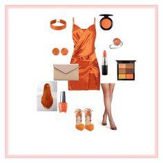 """🔥🍊"" by maylyris on Polyvore featuring Mode, Kristin Cavallari, La Diva, MAC Cosmetics, Ippolita, BillyTheTree und Vanessa Mooney"