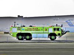 KLGB Long Beach (California) Airport Crash-Fire-Rescue Apparatus