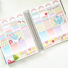 Fairytale Kit (7 Sheets Of Matte Planner Stickers) for July Erin Condren Life Planner