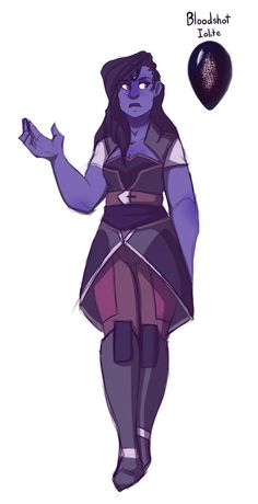 Gemsona - Bloodshot Iolite by JordanSlavens on DeviantArt
