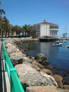 Avalon Bay, Catalina ~ I use to take this walkway out to Descanso every day... miss you Catalina