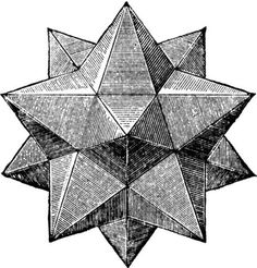pentagonal pyramid polyhedron line drawing Geometry Art, Sacred Geometry, Op Art, Geometric Designs, Geometric Shapes, Geometric Star, Art Ancien, Platonic Solid, Creative Logo
