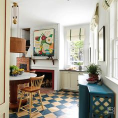 Beata Heuman, Nantucket Home, Nantucket Island, Cosy Home, Painted Floors, Painted Floorboards, Painted Wood, Interior Design Companies, Home And Deco