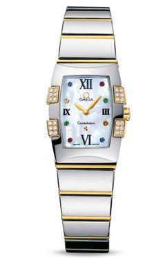 Reloj Omega mujer Constellation Quadrella O12847900