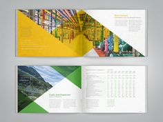 Google Annual Report by Brendan Jones, via Behance