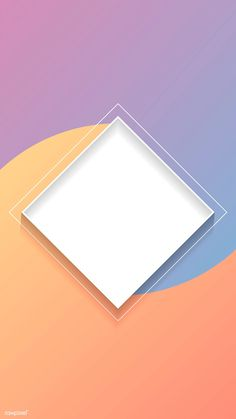Blank rhombus colorful abstract frame vector | premium image by rawpixel.com Phone Wallpaper Images, Cool Wallpapers For Phones, Poster Background Design, Background Banner, Abstract Backgrounds, Purple Backgrounds, Picture Invitations, Page Borders Design, Instagram Background