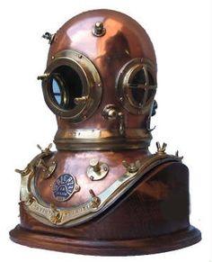 Antique Diving Helmet  #AntiqueDivingHelmet  #Antique  #Diving  #Helmet  #DivingHelmets  #Kamisco