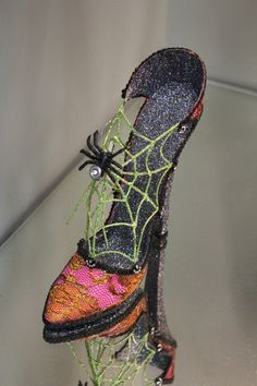 Katherine's Collections Halloween Witches Shoe