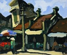 An ancient street, 24x36 Vietnamese hand painted oil painting on canvas by Phuong -  $139.00.  http://www.bonanza.com/listings/An-ancient-street-24x36-Vietnamese-hand-painted-or-paintin/36718345