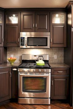 15 modern small kitchen design ideas for tiny spaces kitchen rh pinterest com
