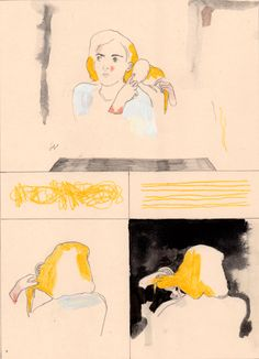 The Blonde Woman - Aidan Koch