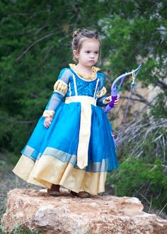 Merida dress BRAVE by BoutiqueButterbean on Etsy
