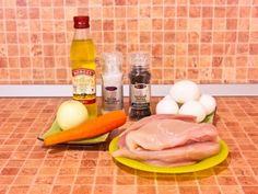 Куриный суп с яичными блинчиками. Ингредиенты