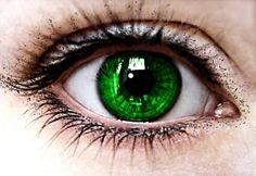 During the Dark Ages, if you had green eyes you were thought to be a witch. Most often times put to death just for this. The belief was partly due to the fact that this is the eye color of cat's who were involved with witches. Beautiful Eyes Color, Pretty Eyes, Cool Eyes, Eye Color Facts, Green Eyes Facts, Dark Green Eyes, Eye Photography, Colored Contacts, Eye Art