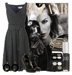 Untitled by littlelaura on Polyvore featuring polyvore, fashion, style, Paul & Joe, Alexander McQueen, STELLA McCARTNEY, Amrita Singh, Blingdeenie, Lancôme, Pixi and clothing