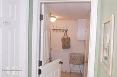 How To: Hollow door to Double Dutch Door - I really need to do this to the door on the basement stairway.  I would like to leave it open in summer to get the free cool air upstairs, but I don't because the kids are always wrestling around near that doorway.  This would solve that concern.