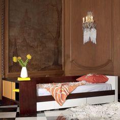 Deux Twin Storage Bed : Childrens Beds at PoshTots