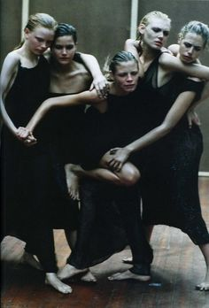 Enchanting Mood Peter Lindbergh for Vogue Italia September 1997