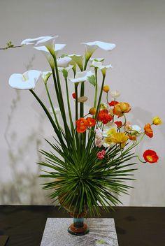 Kyoto Ikebana Exhibition Floral Design