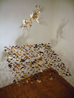 Eco Artist Claire Morgan: Ecological Order and Disorder Claire Morgan, Soul Art, Installation Art, Sculptures, Fine Art, Taxidermy, Design, Curiosity, Mobiles