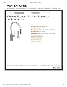 Loft Kitchen Faucet and Spray