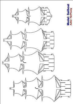 Парусник. Техника Jenigami. Обсуждение на LiveInternet - Российский Сервис Онлайн-Дневников