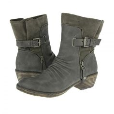 Rieker Boots 93761-43 Grey with Free UK Delivery